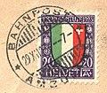 Switzerland 1923-12-01 Pro Juventute 20(+5)c - Zs.27 on cover.jpg