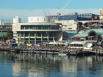 Sydney Convention and Exhibition Centre - Convention Centre in process of demolition March 2014