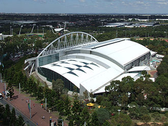 Swimming at the 2000 Summer Olympics - Image: Sydney Olympic Park Aquatic Centre