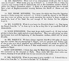 Sykes–Picot Agreement - Wikipedia