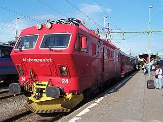 Tågkompaniet - Image: Tågkompaniet El 16 24
