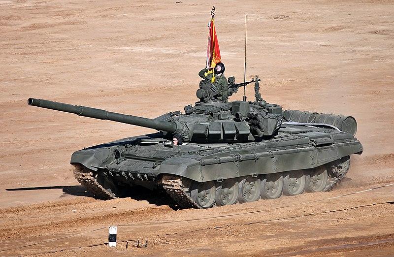 """سد النهضة الاثيوبي """" ملف شامل """" الجزء الثاني: الخيار العسكري ( موضوع فريق فرسان المجد ) 800px-T-72B3_-_TankBiathlon2013-09"""