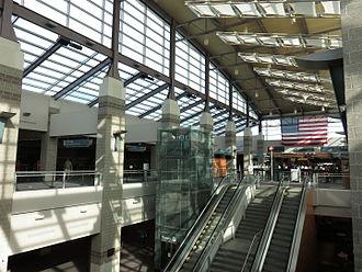 T. F. Green Airport - Terminal lobby