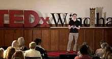 A TEDx Talk in Windham, NH in May of 2015.
