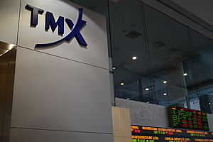 TMX Group - TMX Group offices at 130 King Street West in Toronto, Ontario, Canada.