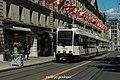 TPG Tram Düwag&Vevey Be 4-6 821 + Be 4-8 - rue de la Corraterie (28496022950).jpg