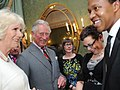 TRHs at Hillsborough Castle reception (13604593345).jpg