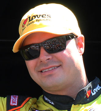 David Gilliland - Gilliland at the 2015 Toyota/Save Mart 350