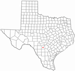 Location of Hondo, Texas