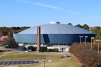 Tad Smith Coliseum - Image: Tad Smith Coliseum 2018 2