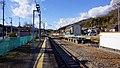 Takezawa Station platforms looking west 20180101.jpg