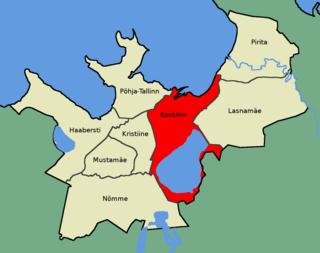 District of Tallinn in Harju County, Estonia