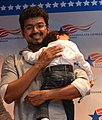 Tamil Film actor Vijay Celebrating World Environment Day at the U.S. Consulate Chennai 8 (cropped).jpg