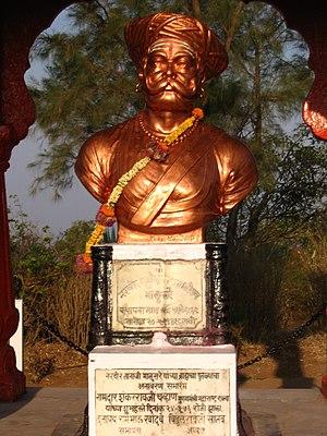 Tanaji Malusare - Memorial of Tanaji Malusare at Sinhagad fort