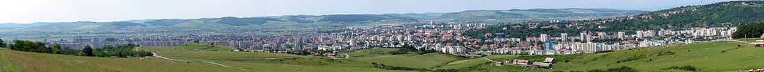 Panoramo de Târgu Mureș