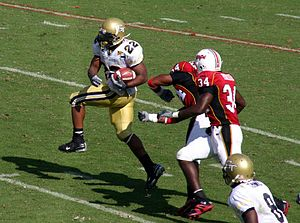 Tashard Choice - Tashard Choice vs the Maryland Terrapins in 2007.