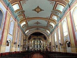 Tayabas Basilica - Image: Tayabas Basilica Interior