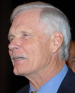 Media mogul Ted Turner, at the opening ceremon...