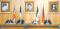 Tehran Declaration - 21 October 2003 - Joschka Fischer, Hassan Rouhani, Dominique de Villepin and Jack Straw.png