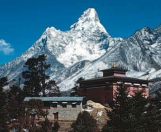 Tengboche Place in Province No. 1, Nepal