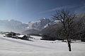 Tennengebirge von Abtenau Waldhof gesehen.JPG