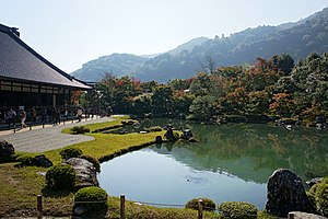 Five Mountain System - The zen garden that Musō Soseki built  at Tenryū-ji, head of the Kyoto Gozan