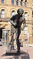 Terry Fox Statue, Wellington St, Ottawa (491753) (9447495349).jpg