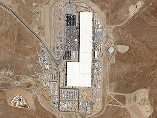 Gigafactory 1 lithium-ion battery factory