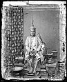 The 1st King of Siam, King Mongkut, in state robes, Bangkok Wellcome L0055542.jpg