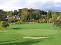 The 2nd green at St Boswells Golf Course - geograph.org.uk - 596458.jpg