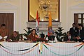 The Ambassador of Bhutan in India, Major General Vetsop Namgyel and the Secretary, Ministry of Civil Aviation.jpg