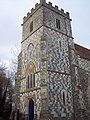 The Church of All Saints and St Mary, Chitterne - Tower - geograph.org.uk - 373732.jpg