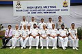The DG, Indian Coast Guard, Vice Admiral Anurag G. Thapliyal and the Director General, Sri Lanka Coast Guard, Rear Admiral Ravindra C. Wijegunaratne with the senior officers of Indian Coast Guard.jpg