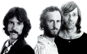 John Densmore - John Densmore (left) in 1971 with Robby Krieger and Ray Manzarek of the Doors