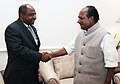 The Foreign Minister of Maldives, Mr. Abdulla Shahid called on the Defence Minister, Shri A. K. Antony, in New Delhi on December 06, 2007.jpg