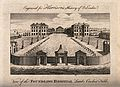 The Foundling Hospital, Holborn, London; a bird's-eye view o Wellcome V0013452.jpg