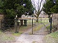 The Gates to Peasenhall Cemetery - geograph.org.uk - 1744099.jpg