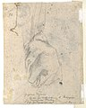 The Head and Shoulders of a Woman in Profile; Separate Studies of Her Head and Ear (recto); Fragment of Drapery Study, Profile of Architectural Molding (verso). MET DP123326.jpg