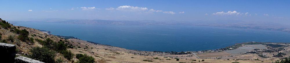 הכנרת ממצפה אופיר ליד גבעת יואב