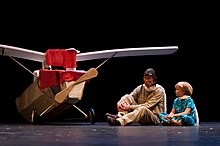 The little prince wikipedia one of numerous stage adaptations of saint exuprys child and adult fable this one at the university of minnesotas rarig center proscenium 2010 fandeluxe Image collections