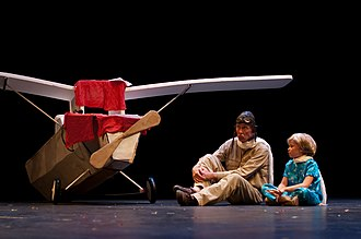 The Little Prince - One of numerous stage adaptations of Saint-Exupéry's child and adult fable, this one at the University of Minnesota's Rarig Center Proscenium (2010).