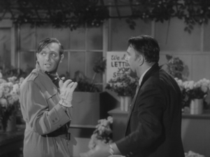 Charles B. Griffith - Griffith (left) in The Little Shop of Horrors (1960)