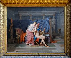 Jacques-Louis David: Los amores de Paris y Helena
