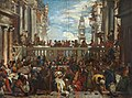 The Marriage at Cana (after Paolo Veronese) by Edward Daniel Leahy.jpg