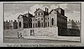 The Middlesex Hospital; seen from the south-east. Engraving. Wellcome V0013601.jpg