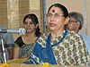 The Minister of State (Independent Charge) for Women and Child Development, Smt. Krishna Tirath addressing at the inauguration of a One-Day Awareness Camp on Socio-Economic Empowerment of Women, in New Delhi on July 23, 2010.jpg