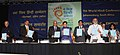 The Minister of State for External Affairs, Smt. Preneet Kaur releasing a book at the 9th World Hindi Conference, in Johannesburg, South Africa on September 22, 2012.jpg