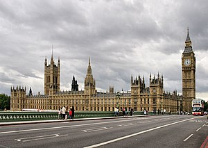 English: The Palace of Westminster The Houses ...