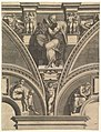 The Persian Sibyl; from the series of Prophets and Sibyls in the Sistine Chapel MET DP821564.jpg
