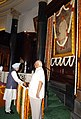 The Prime Minister, Dr. Manmohan Singh paying floral tributes to Lokmanya Bal Gangadhar Tilak on the occasion of his 152nd birth anniversary, in New Delhi on July 23, 2008.jpg